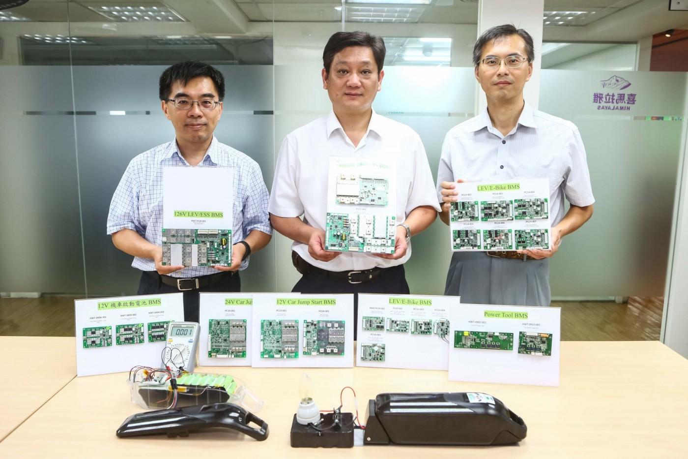 專注研發、用專利說話,「中年新創」漢穎科技要讓鋰電池壽命更長更安全