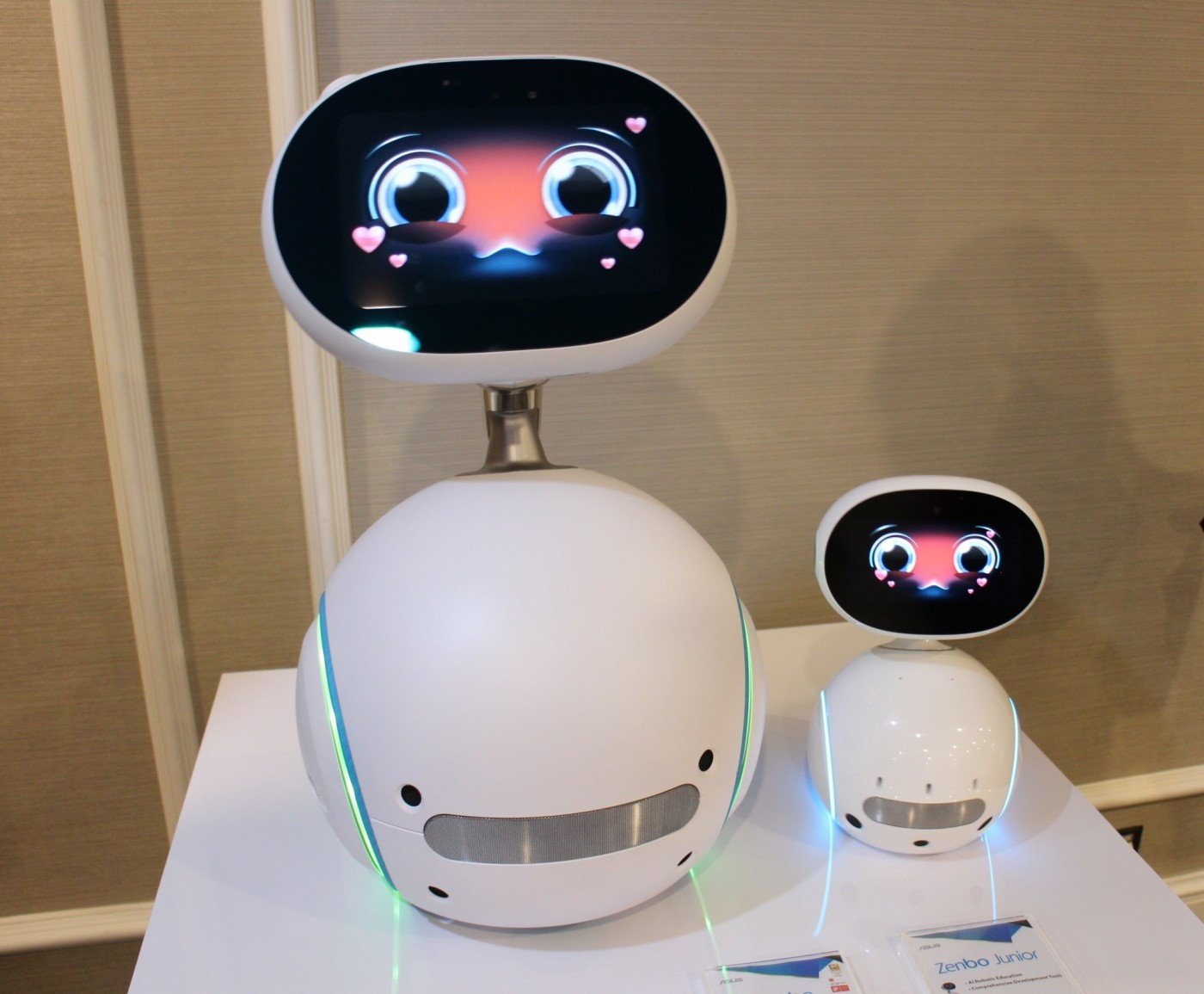 身高僅31.5公分,華碩發表迷你機器人Zenbo Junior要吃最大商務市場