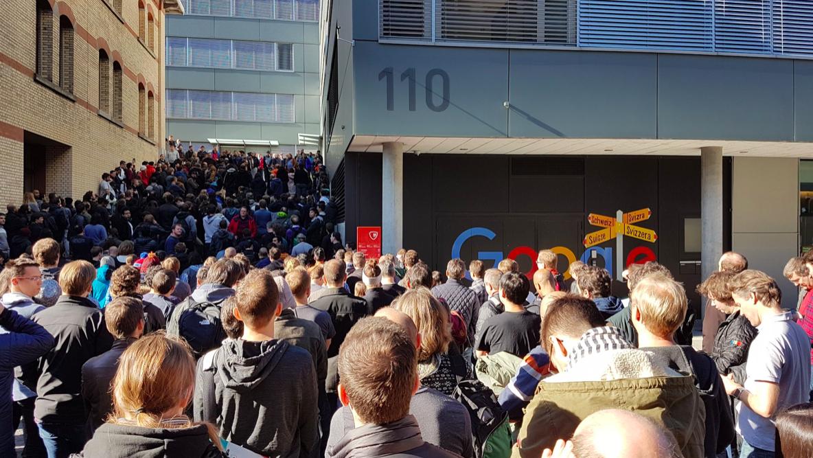 終止性騷擾事件不當處理!Google全球員工走出辦公室向高層提出5個訴求