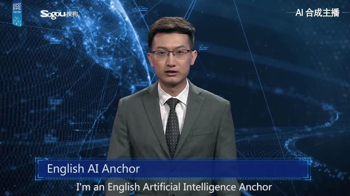 24小時不停工!新華社開發、第一個中文AI主播螢幕前現身