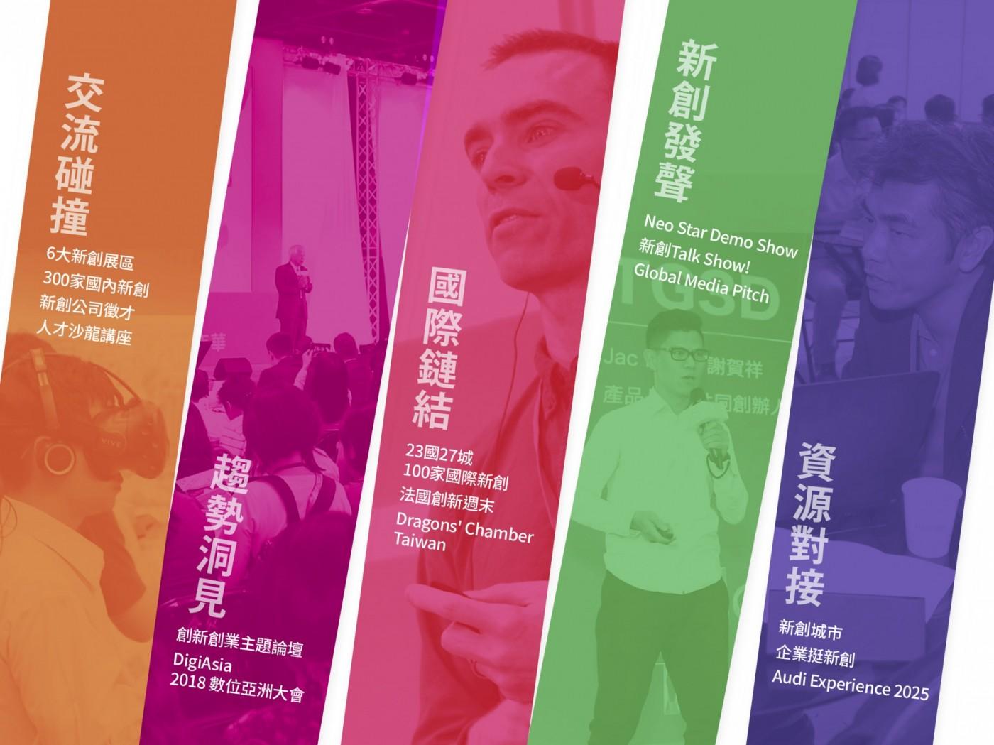 【2018 Meet Taipei搶先看】 按圖索驥,亞洲最大創新創業嘉年華全場攻略