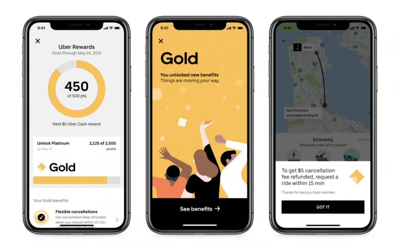 Uber推出會員點數制!搭車、叫外送累點能享4種不同等級優惠