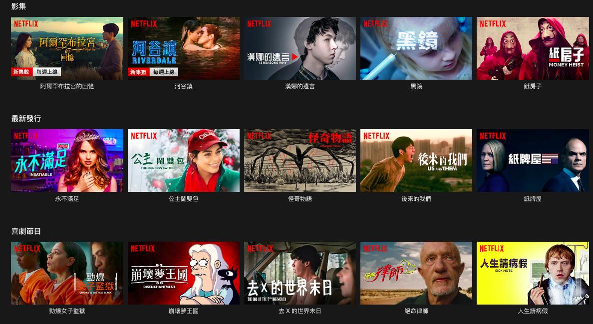 華爾街看衰Netflix 2020年發展:再不接納廣告,恐掉400萬訂戶