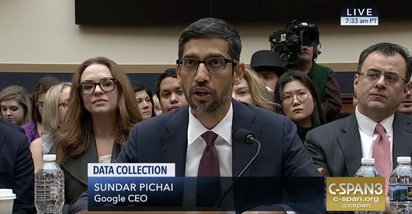 白宮質詢中國版搜尋引擎,Google執行長皮查:不會是「現在」推出