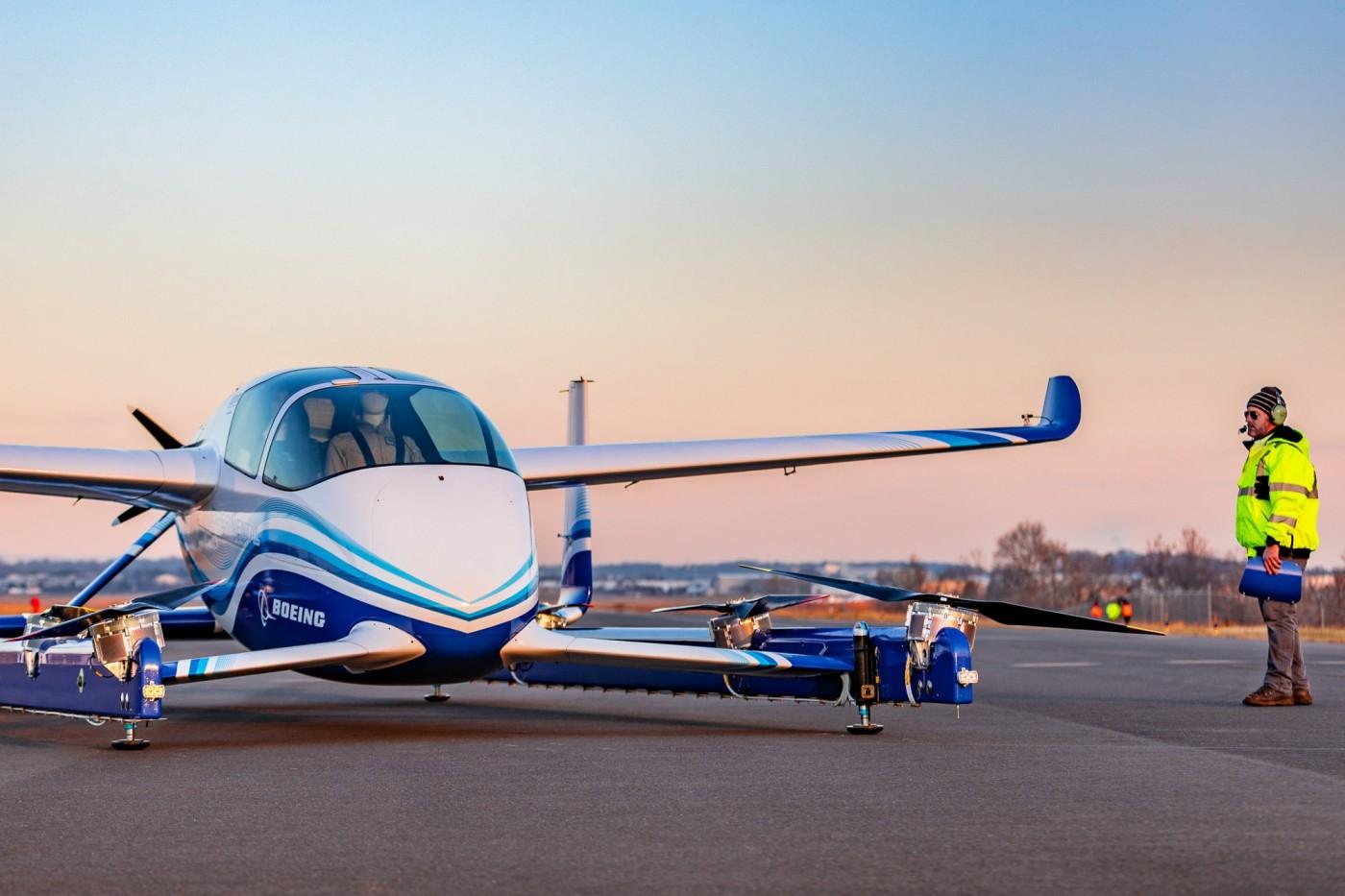 波音飛天車首次試飛成功,下一步制定3D空中交通管制