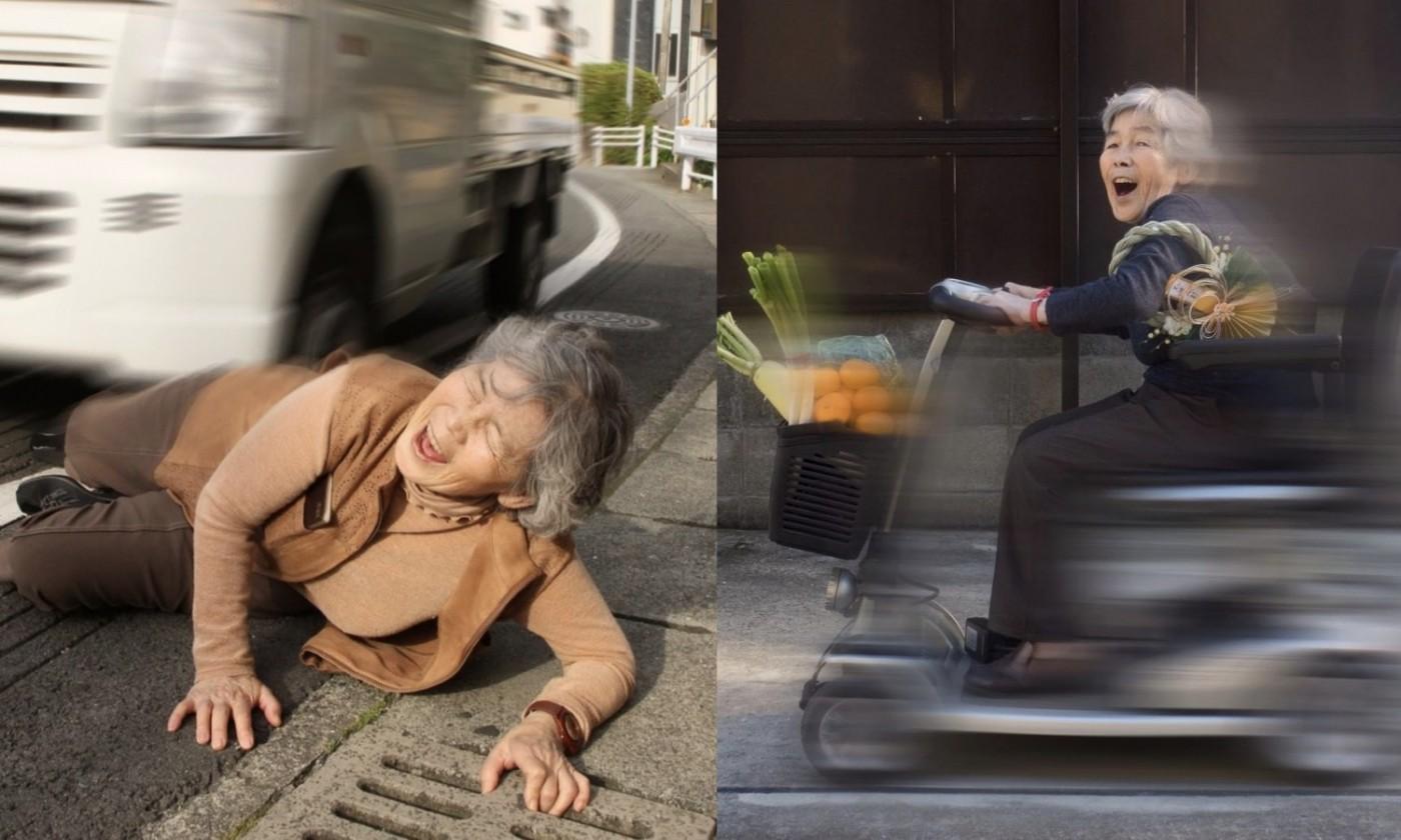 90歲日本阿嬤學會攝影、P圖後無極限,超狂「長輩圖」笑翻網友