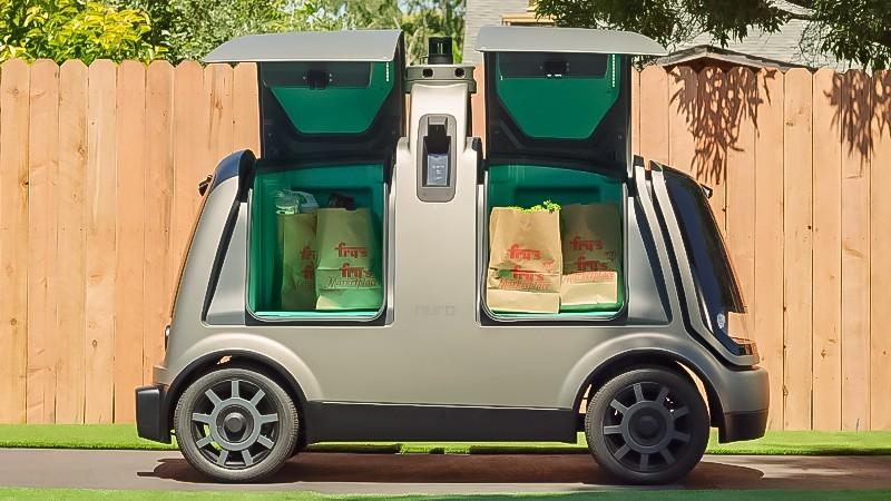 軟銀也看好!前Google自駕工程師創辦外送機器人Nuro,獲9.4億美元投資