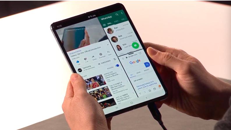 三星折疊手機Galaxy Fold延期上市,螢幕瑕疵初步聚焦兩點原因