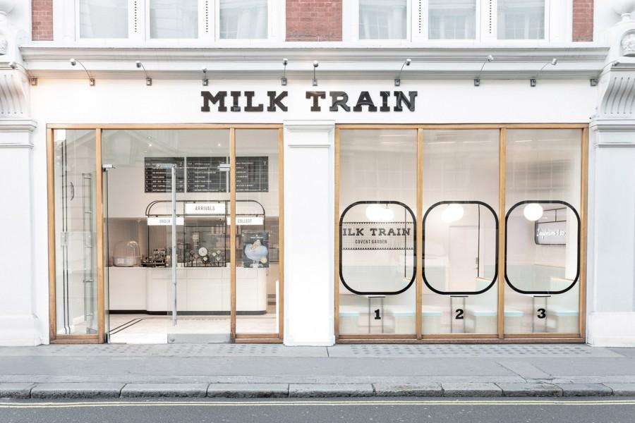 "img 1551075453 59573@900 - 仿佛来到云端火车站?伦敦云朵冰淇淋""Milk Train"",以蒸汽火车为灵感新门市揭幕!"