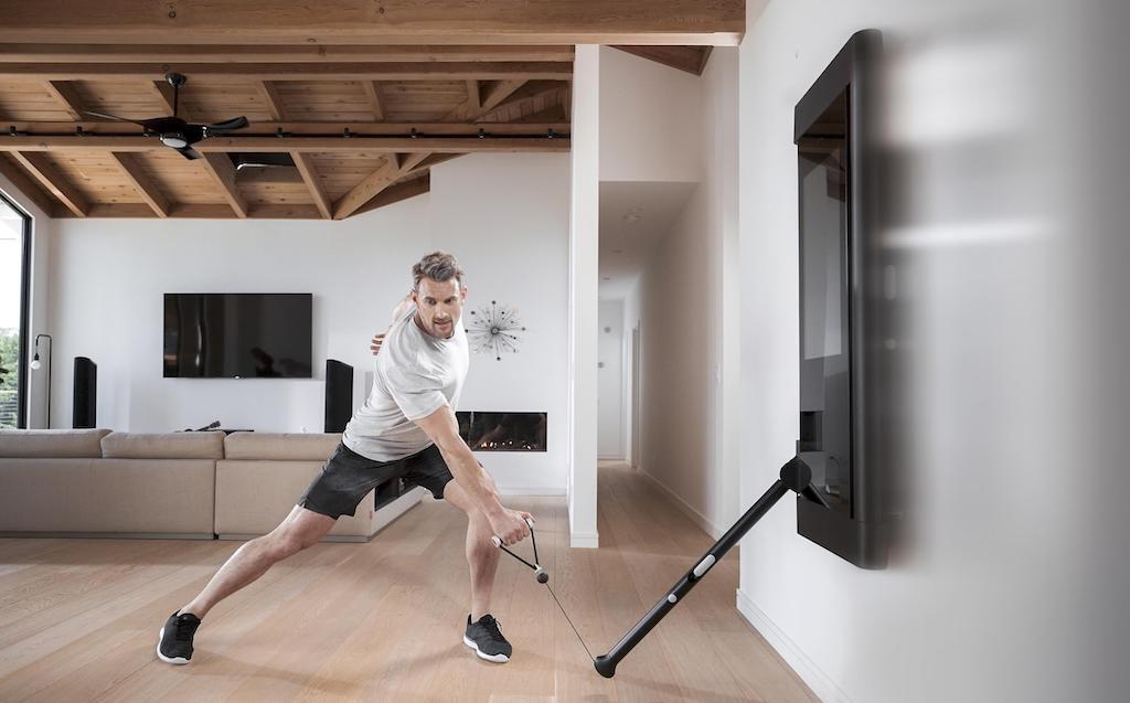 健身教練天天在家陪你練肌肉,聯德-KY奪美新創TONAL萬台訂單