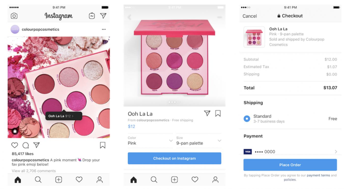 個人頁面出現「訂單」區!Instagram搖身成電商平台,用戶在站內就可兩鍵購買
