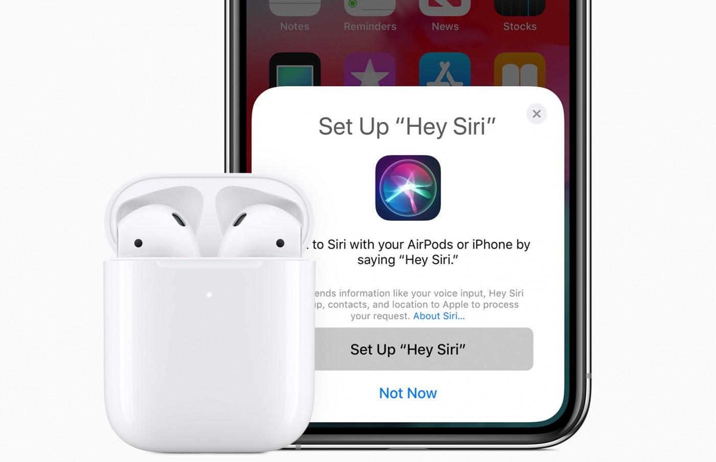 第二代AirPods悄悄上架蘋果官網,還推出了無線充電盒!