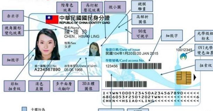 多卡合一!新數位身分證明年10月上路,駕照、健保卡預計逐步導入