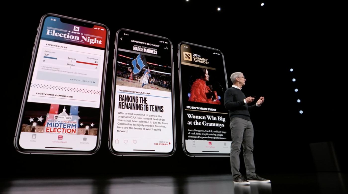 視覺體驗升級!蘋果新聞訂閱Apple News+打造成報章雜誌界Netflix