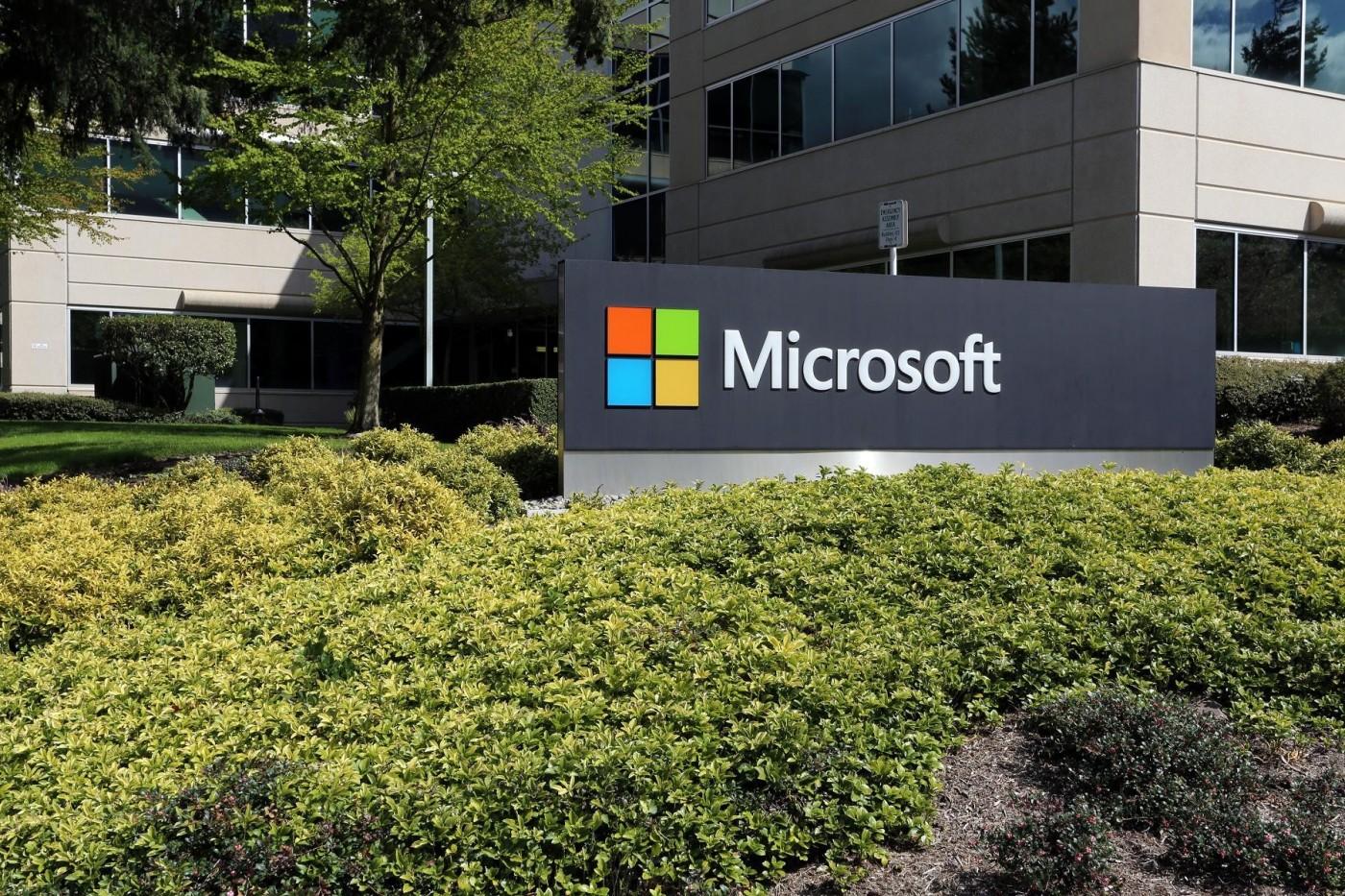 搭雲端服務快車,微軟衝上市值破兆美元的科技企業