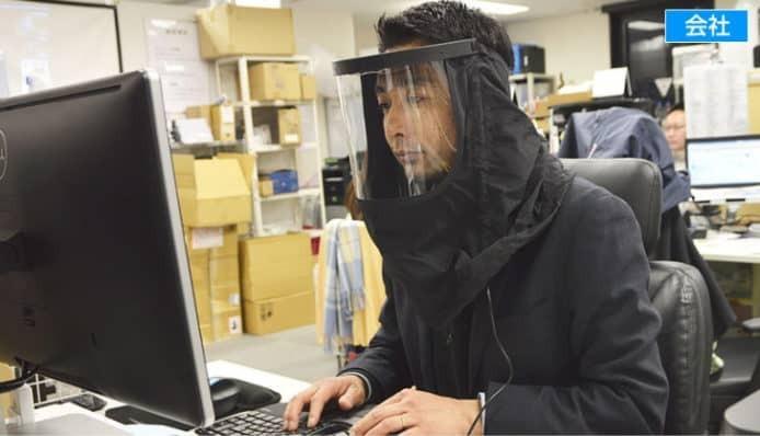 恥力無限!日本推「內建風扇、三層過濾網」口罩,徹底阻絕過敏源