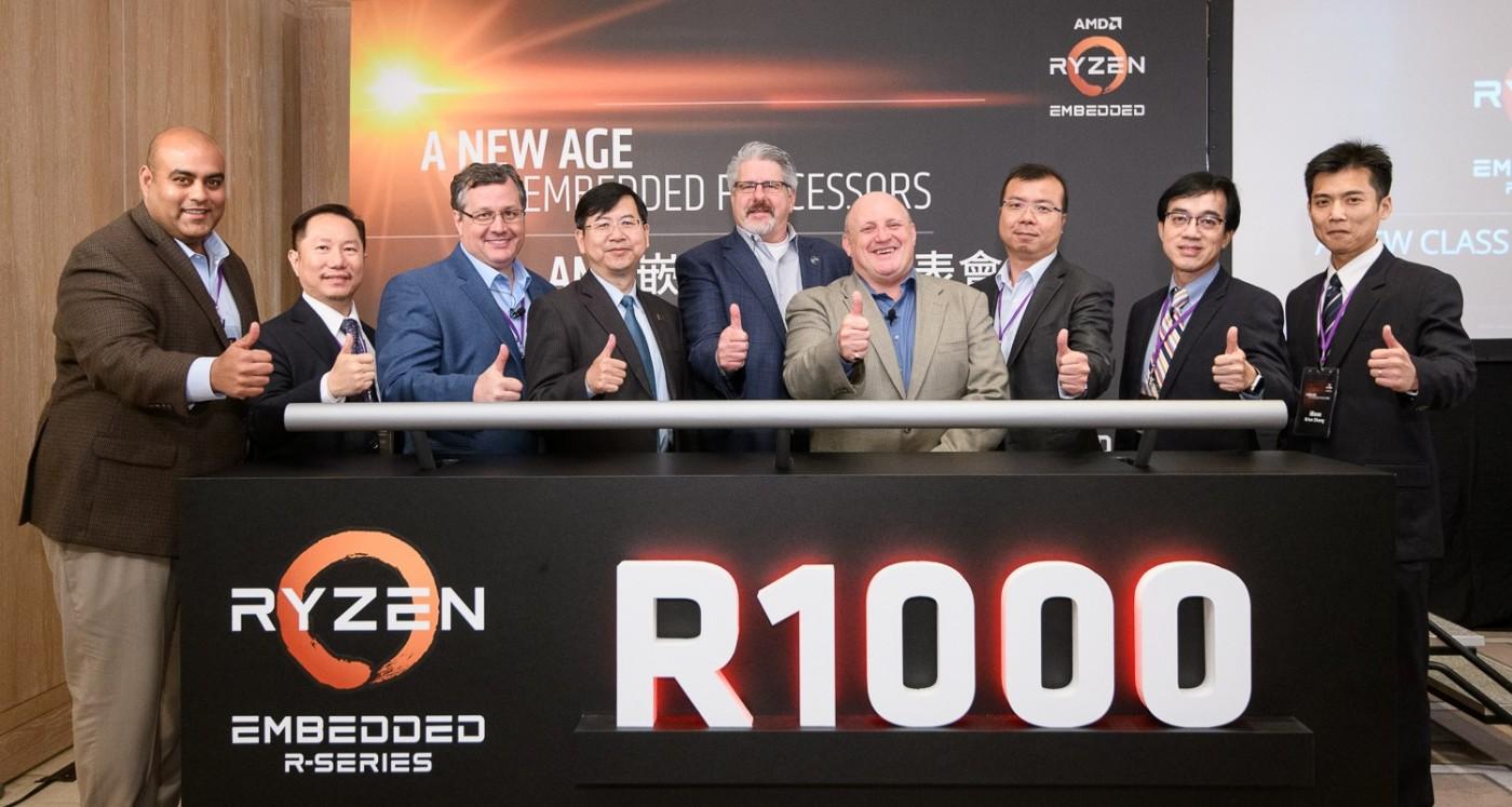 AMD新嵌入式處理器登場,獲遊戲商、工業電腦大廠支持