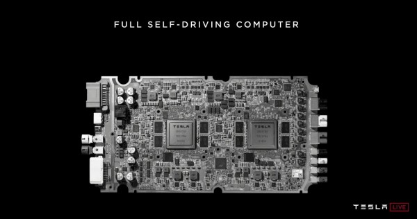 特斯拉发布自动驾驶芯片,预告2020年百万辆无人出租车上路跑