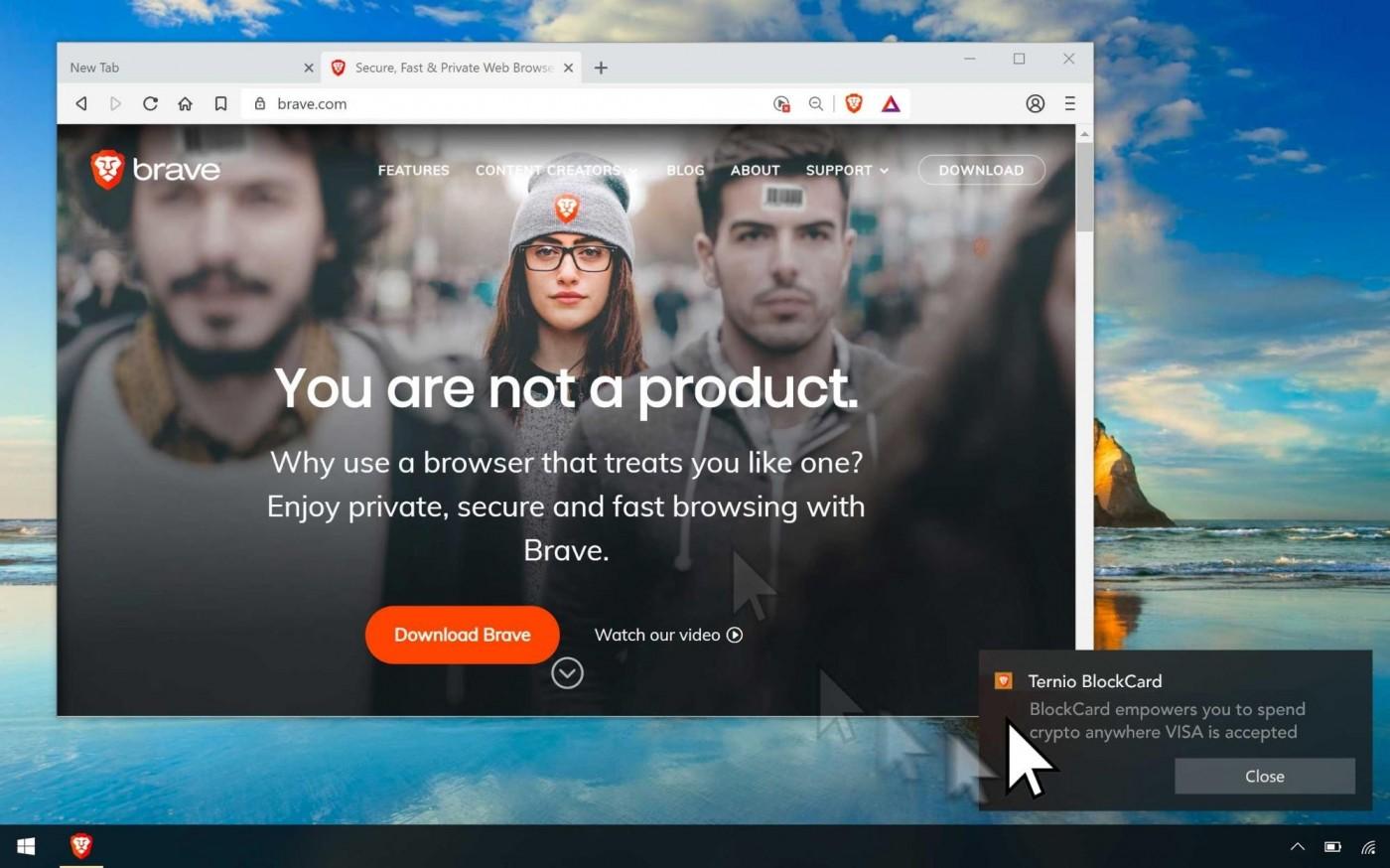 付錢請你看廣告!這家區塊鏈瀏覽器新創打什麼主意?
