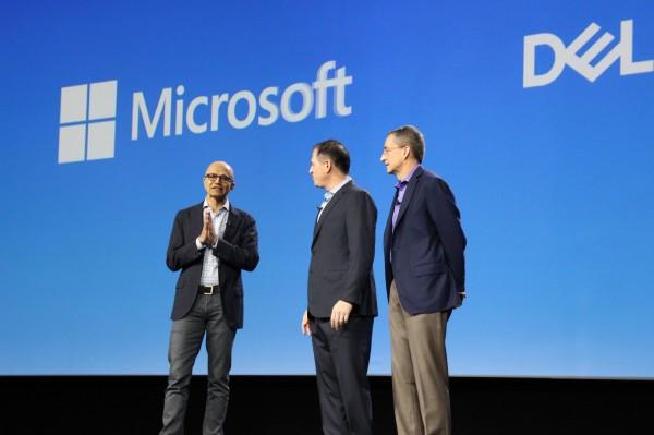微软纳德拉也来了!戴尔宣布VMware与Azure云端合作打通关