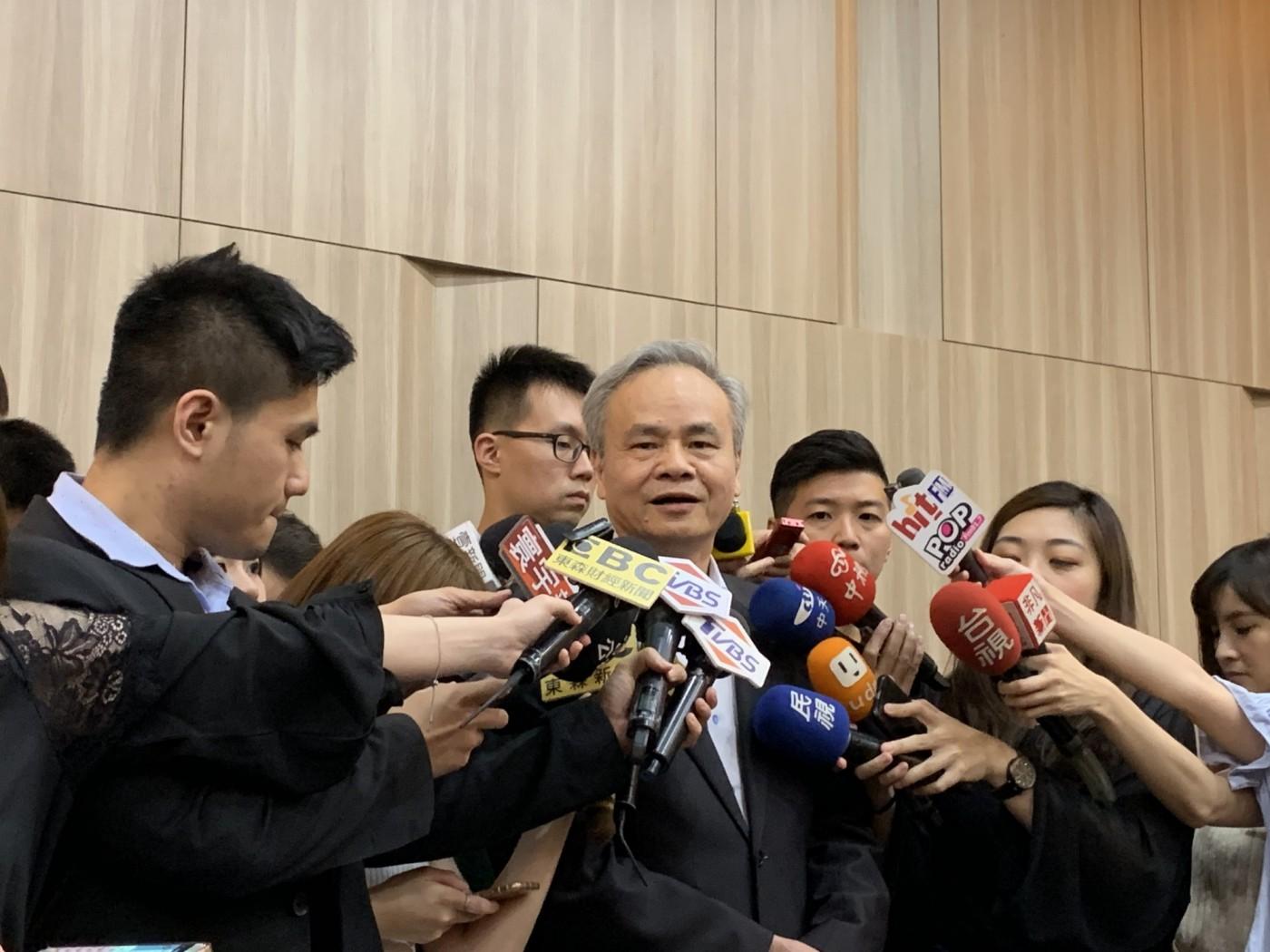 還原物流中心招租爭議,中華郵政總經理陳憲着呼籲:政治力勿介入太多