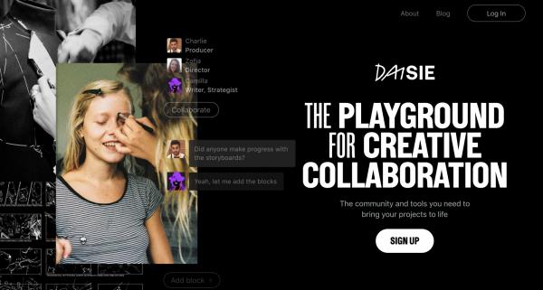 权力游戏艾莉亚下戏成创业家,创作共享平台Daisie获近8千万投资