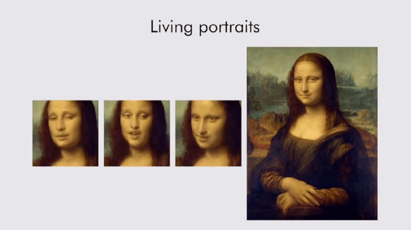 讓蒙娜麗莎在畫框中活起來!AI技術「Deepfake」再進化,只要一張照片就能偽造影片