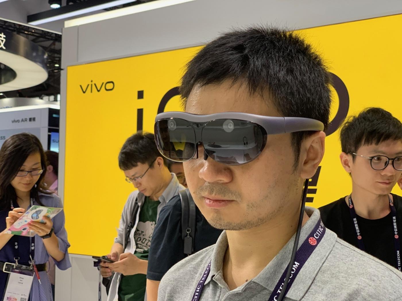 未來即現在!上海MWC直擊vivo、nreal AR眼鏡,讓你一眼看透個人資料