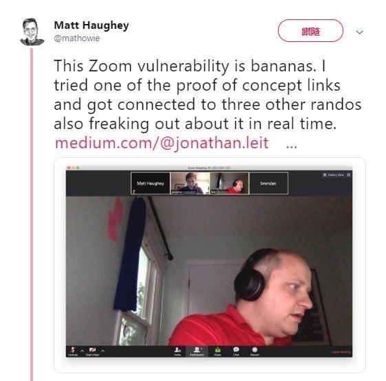 视讯会议软件Zoom爆资安漏洞,苹果出手更新删除问题程序