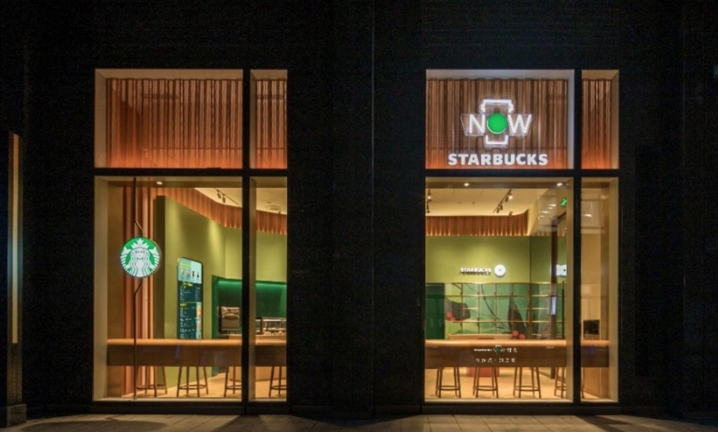 對付小藍杯的絕招?星巴克全球首間「啡快」概念店開幕