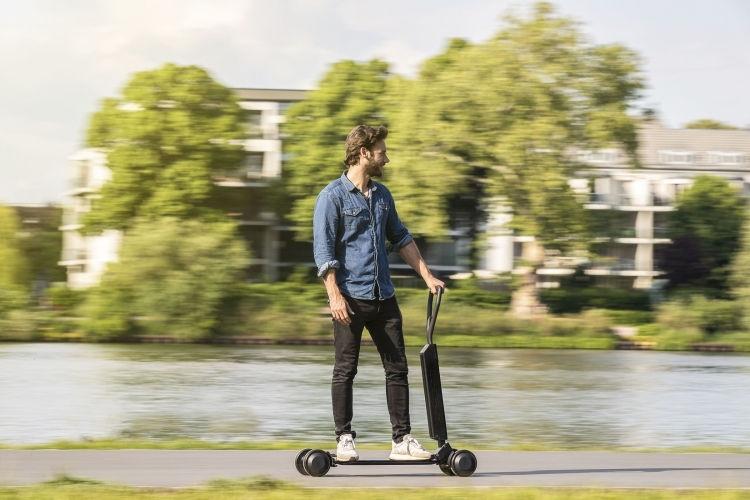 10萬內入手一台「奧迪」!不過是一台電動自行滑板車