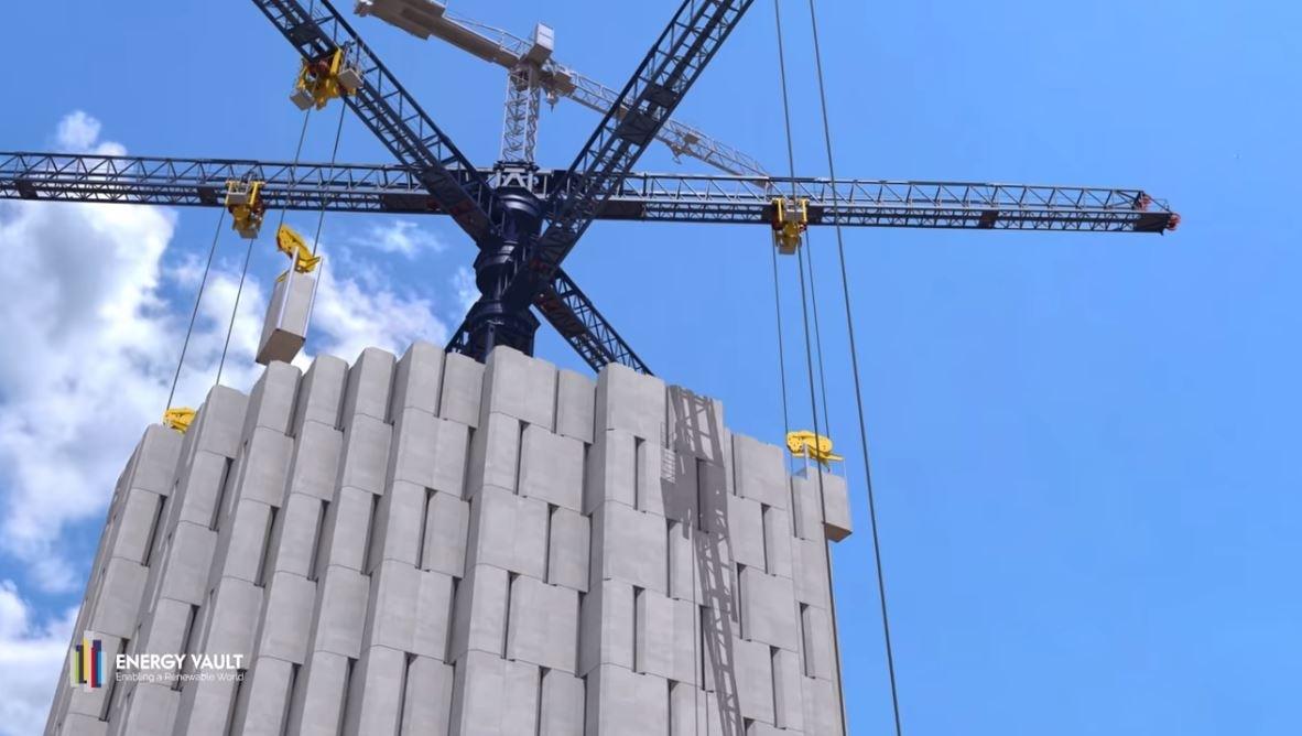 獲軟銀投資34億元!瑞士新創大膽發想「水泥樂高塔」掀儲能革命