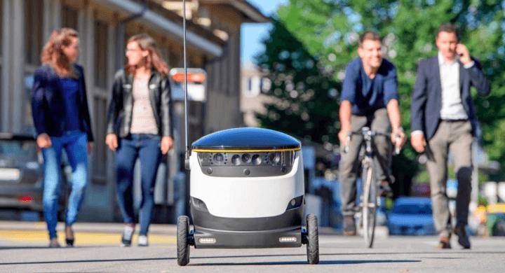 走過400萬條街道!自動送貨機器人前進100所美國大學