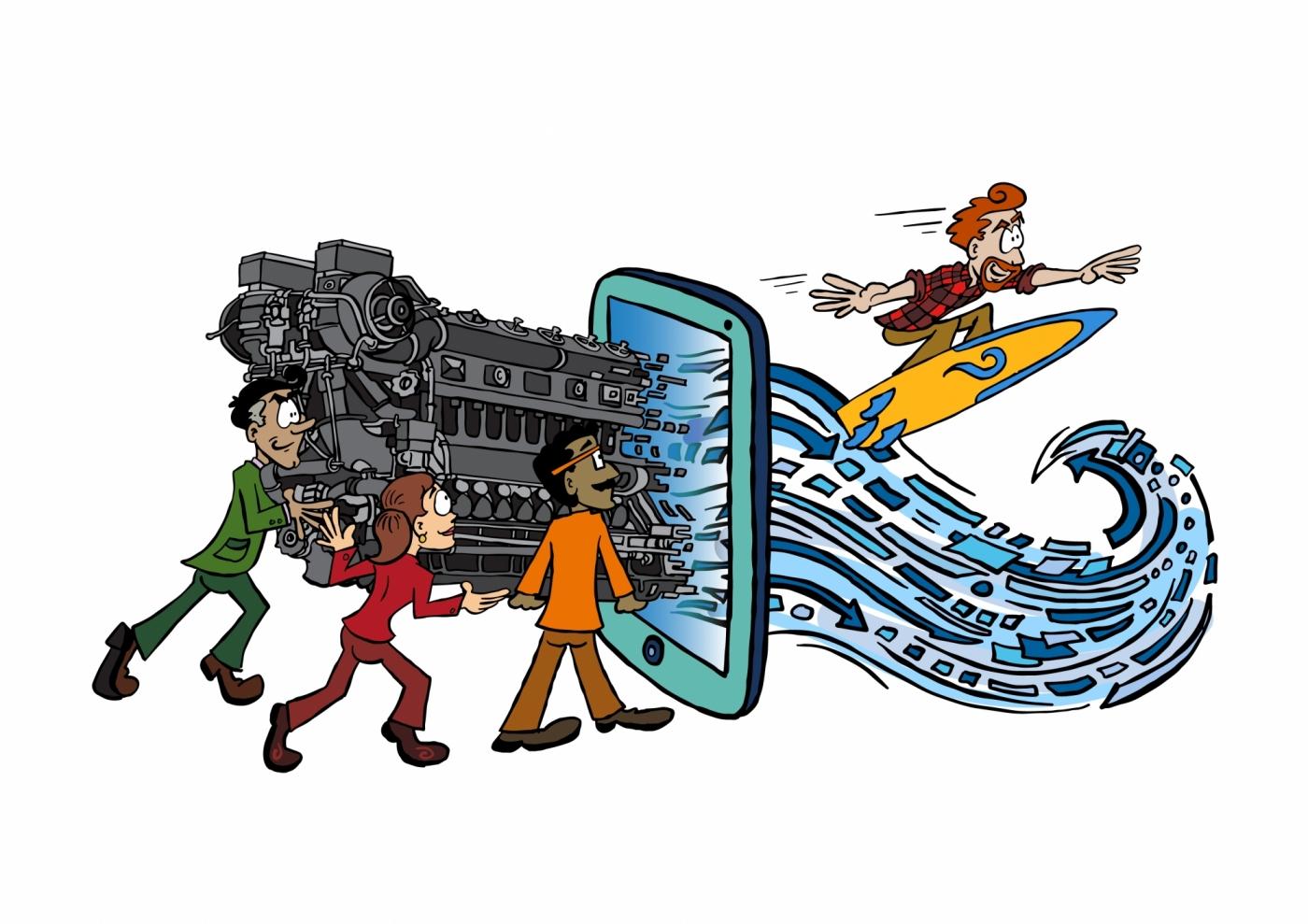 企業數位轉型必備的七大核心能力