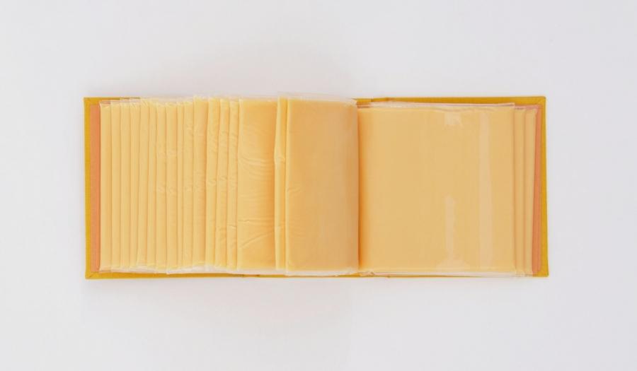"img 1566877614 58279@900 - 番茄酱、起士片成书籍?设计师打造""实体化图鉴"",颠覆你对书的想像!"