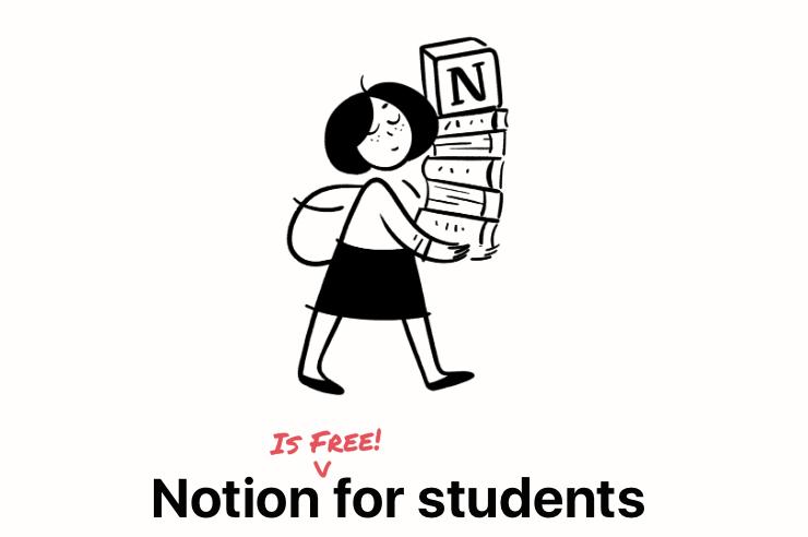 矽谷火紅筆記軟體Notion開放學生免費升級,中文版也不遠了