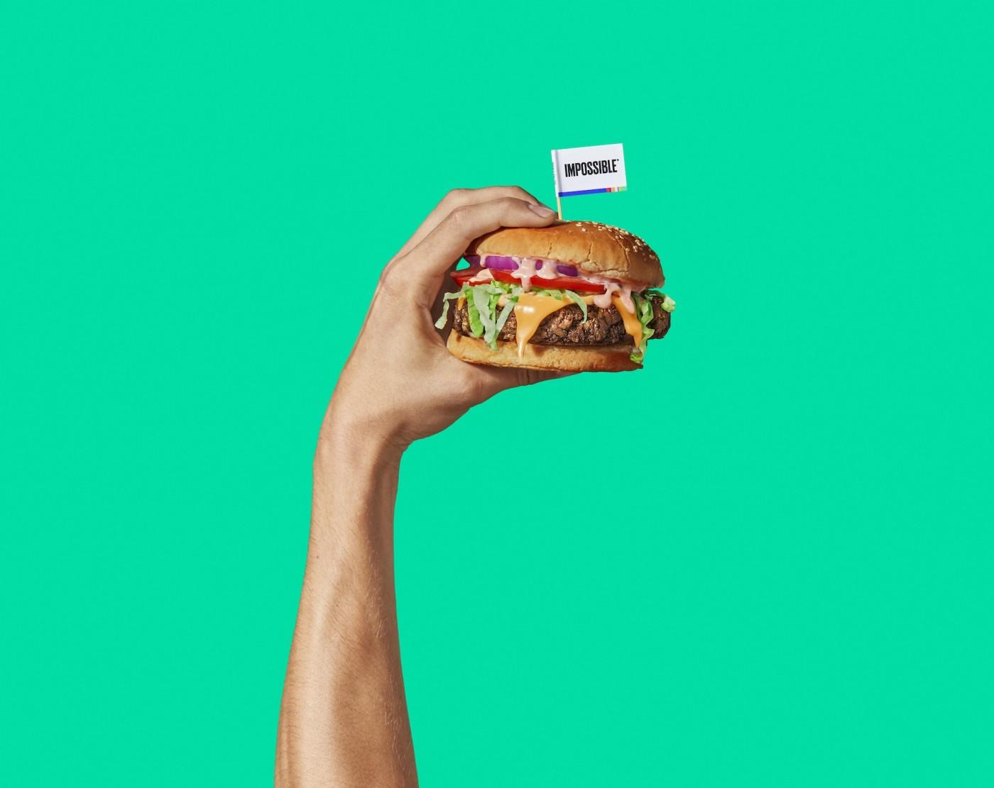 進軍1.7萬家速食店後,人造漢堡肉Impossible Burger搶進美國超市