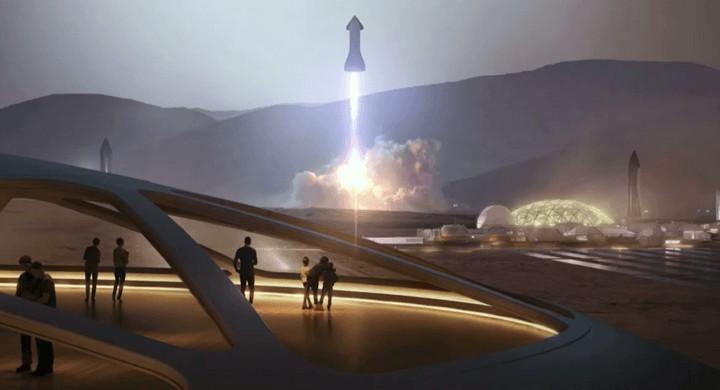 載百人登月、上火星都不是夢!馬斯克打造地表最強的「太空飛船」首度公開