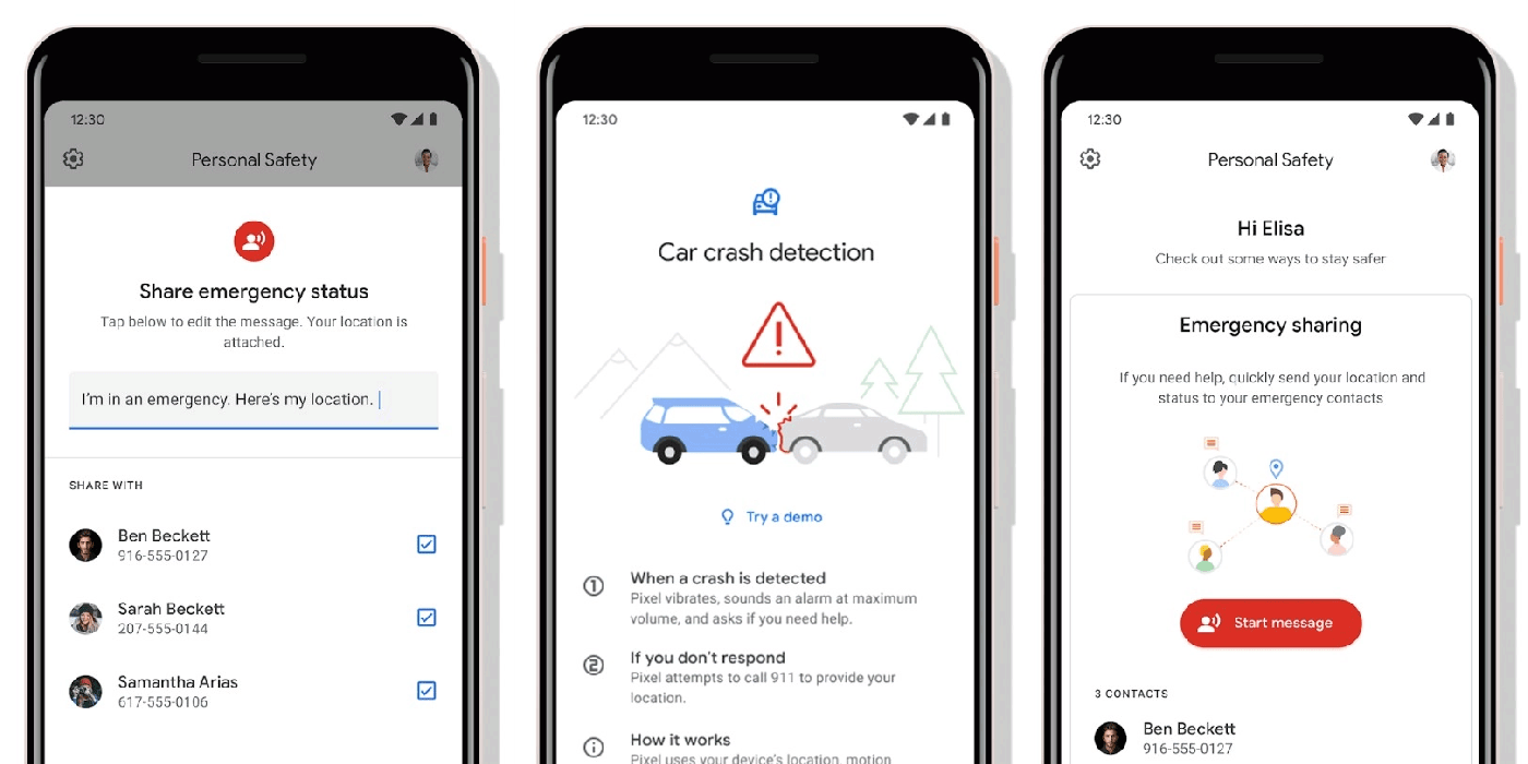 Google Pixel 4功能搶曝光,發生車禍時「它」可以救你一命