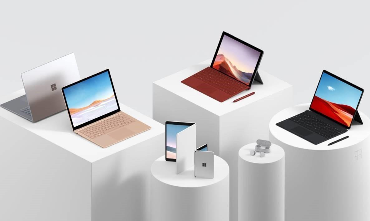 微軟Surface年會6大新品一次看:雙螢幕手機Surface Duo、首款藍牙耳機重磅登場