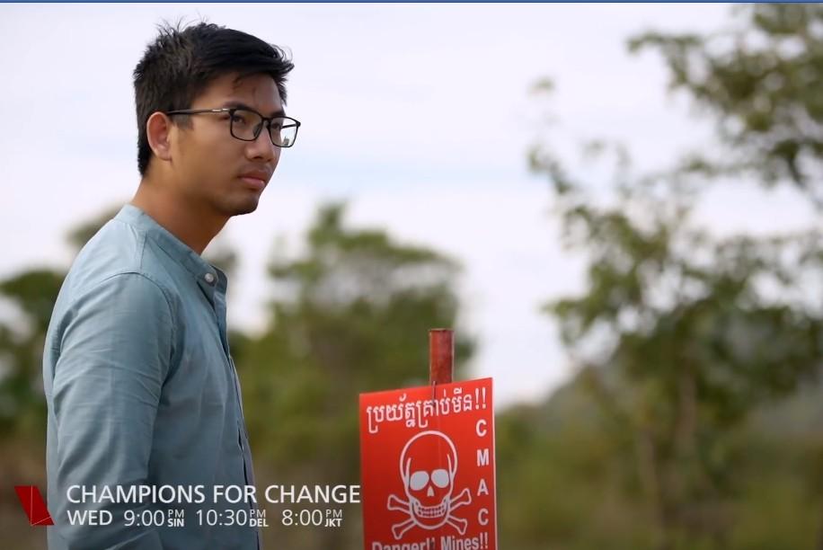 2025年掃除千萬顆地雷! 26歲青年要讓柬埔寨人無懼大步前行