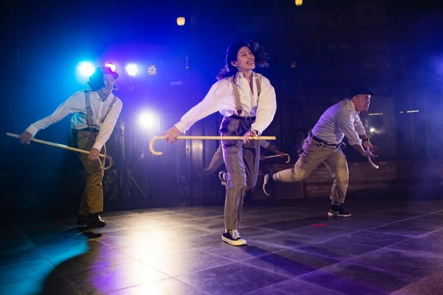用艺术说创业故事2019MeetTaipei闭馆演出马戏乐团踢踏舞展现活力