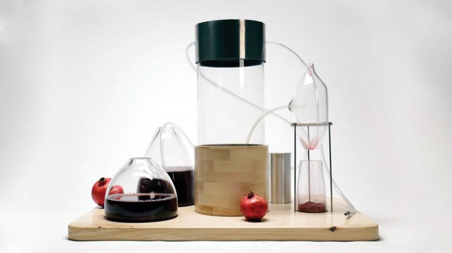 """葡萄柚、酪梨果皮做成颜料!英国设计""""Kaiku""""剩食再利用,获得 James Dyson 设计奖 1"""