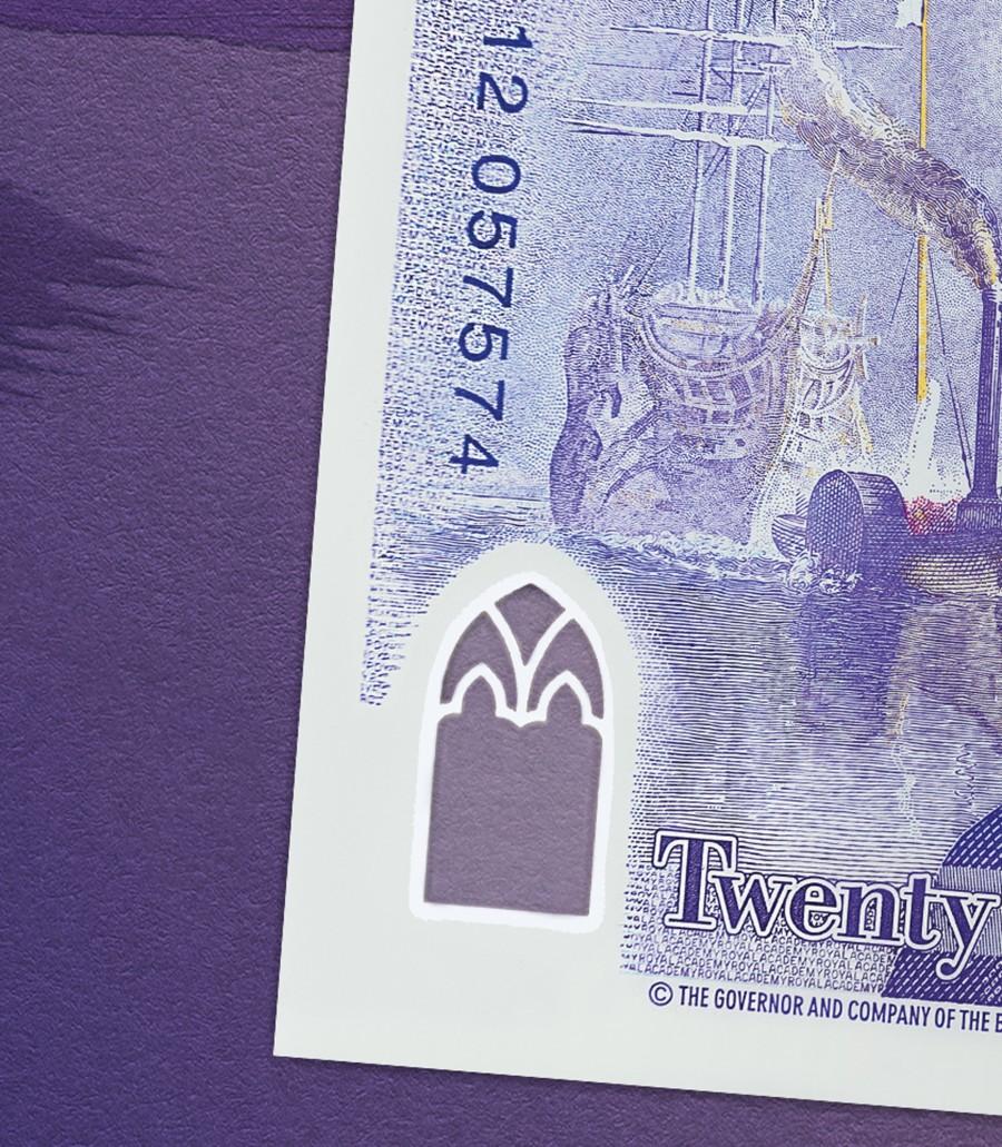 "img 1571210514 16054@900 - 新版""英镑""亮相!2020 年正式发行,首度以艺术家肖像为主题,纸钞材质也有变化"