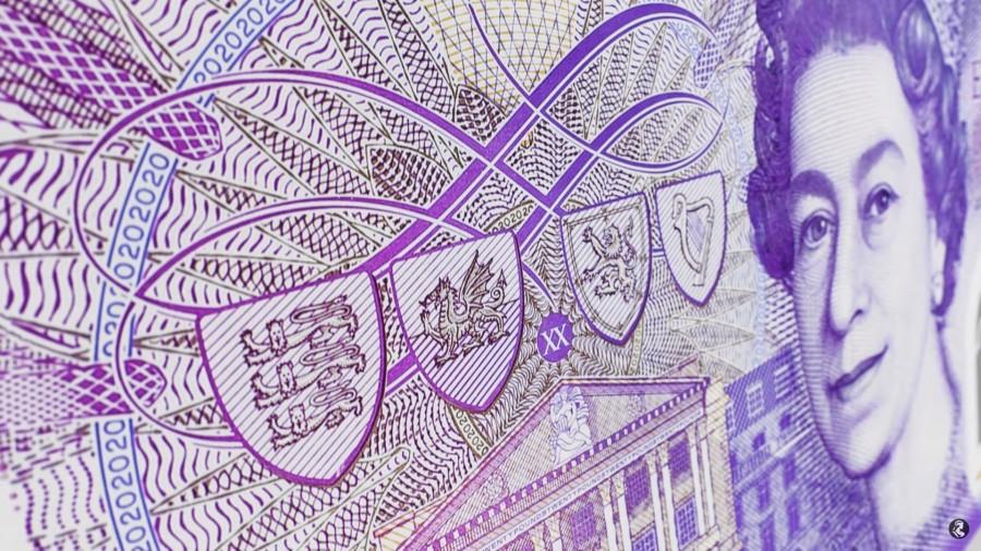 "img 1571218798 51614@900 - 新版""英镑""亮相!2020 年正式发行,首度以艺术家肖像为主题,纸钞材质也有变化"
