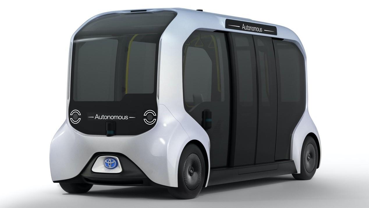 選手村自駕上路!Toyota次世代e-Palette共享電動車將在奧運實際運用