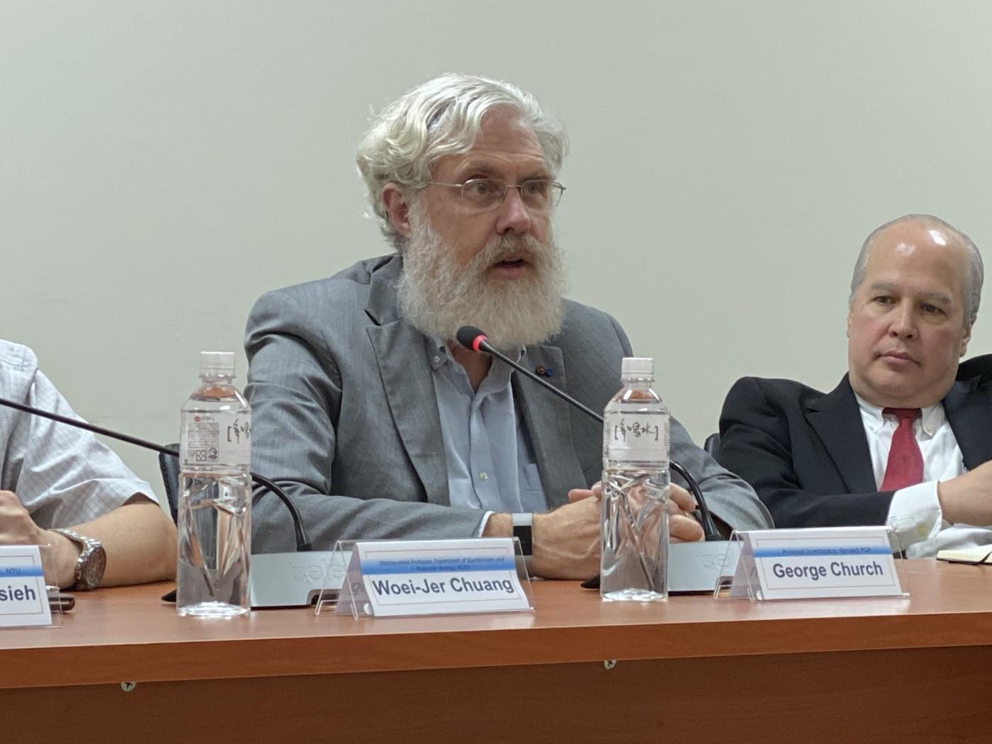 個人基因圖譜庫之父 George Church 來台:期望台灣加入
