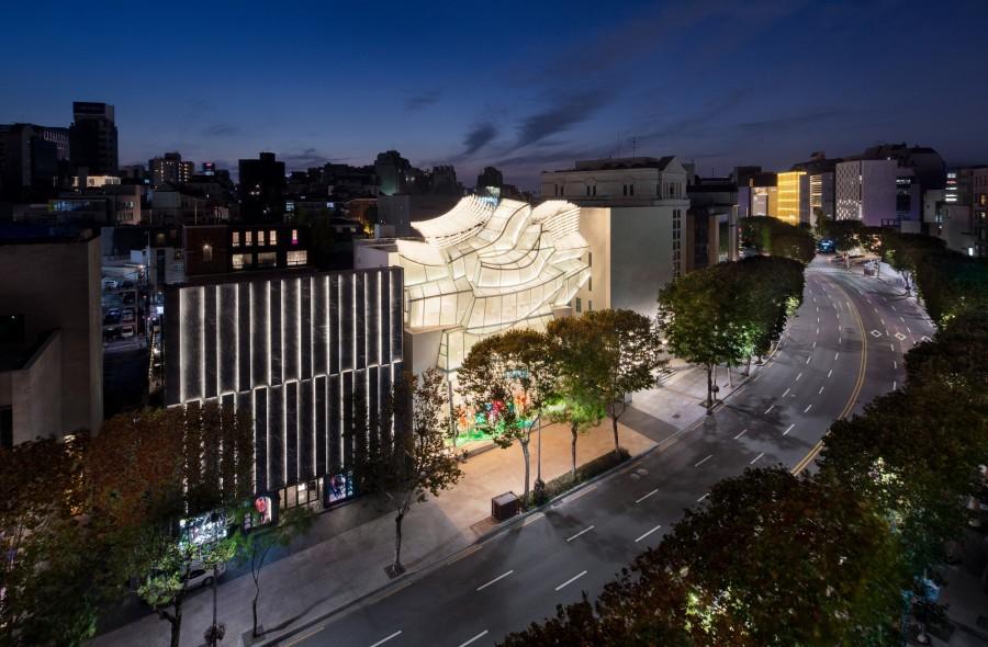 Frank Gehry 韩国首作!充满诗意的玻璃云朵:首尔路易威登 Maison Seoul 15