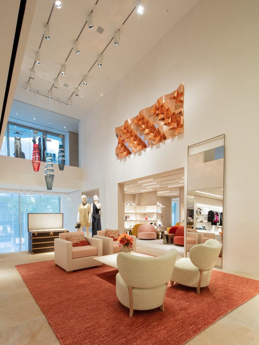 Frank Gehry 韩国首作!充满诗意的玻璃云朵:首尔路易威登 Maison Seoul 10