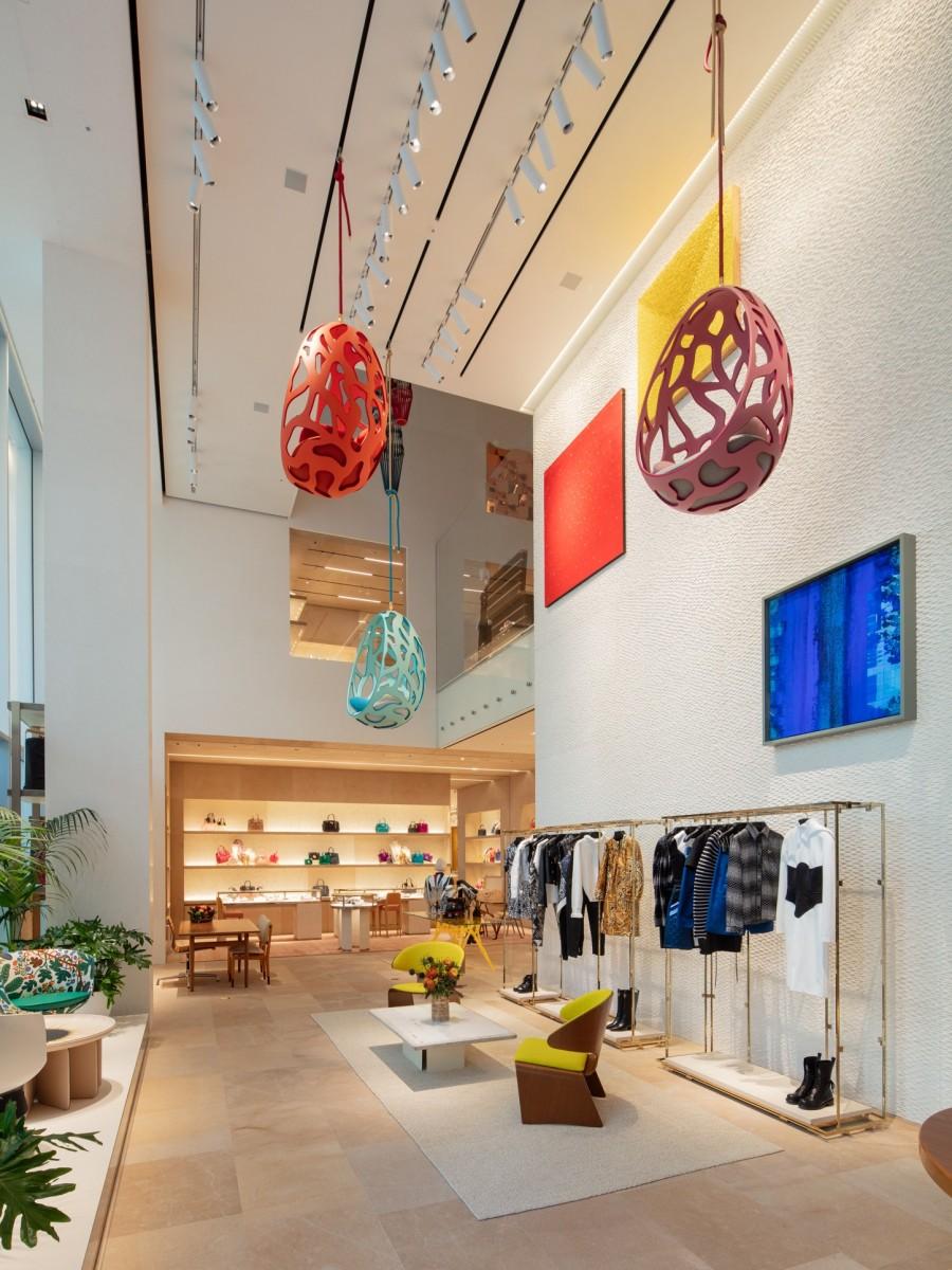Frank Gehry 韩国首作!充满诗意的玻璃云朵:首尔路易威登 Maison Seoul 7